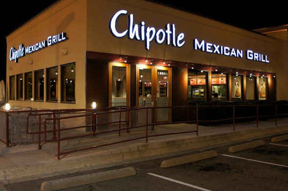 Chipotle Mexican Grill | 39 Fast-Food Restaurants Definitively Ranked From Grossest To Least Gross