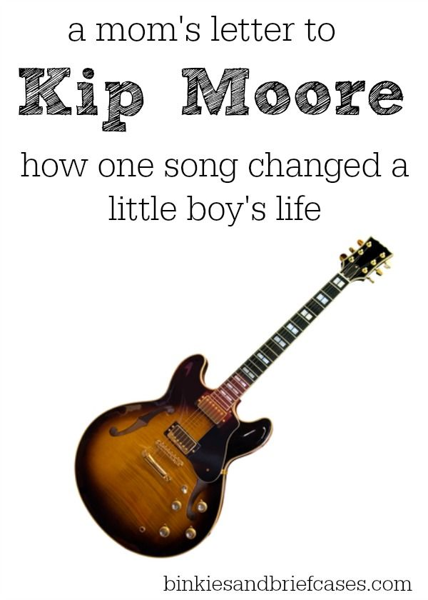 A mom writes a touching letter to Kip Moore explaining how his song Hey Pretty Girl affected her adopted son.