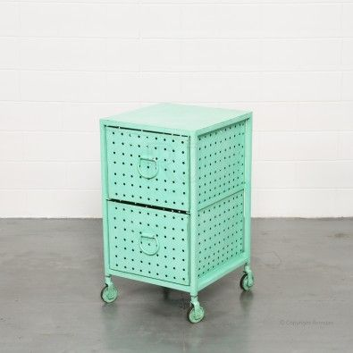 Buy Melanie Industrial Cabinet (Green) | Storage Solutions - Retrojan