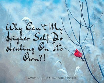 """Hvorfor må en klient komme til en Quantum Healing Hypnosis utøver for å få hjelp til å be sitt eget Høyere Selv om å sette i gang og utføre healing? Hvorfor gjør ikke det Høyere Selvet dette automatisk (så kraftfullt og fullt av visdom som det er), så snart klienten har manifestert et ønske om å bli healet? Trengs det virkelig en QHHT utøver for at det skal skje?"""" - Dette er ting som en av mine QHHT kollegaer lurte på, som følge av et spørsmål fra en av sine klienter."""