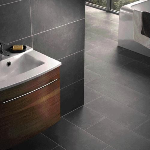 Porcelain Wall & Floor Tile - Porcelain Floor Tiles - Floor Tiles -Tiles & Floors - Wickes the grey and white will go well together