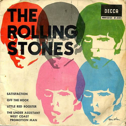 The Rolling Stones 1965 Album Covers Concert Posters
