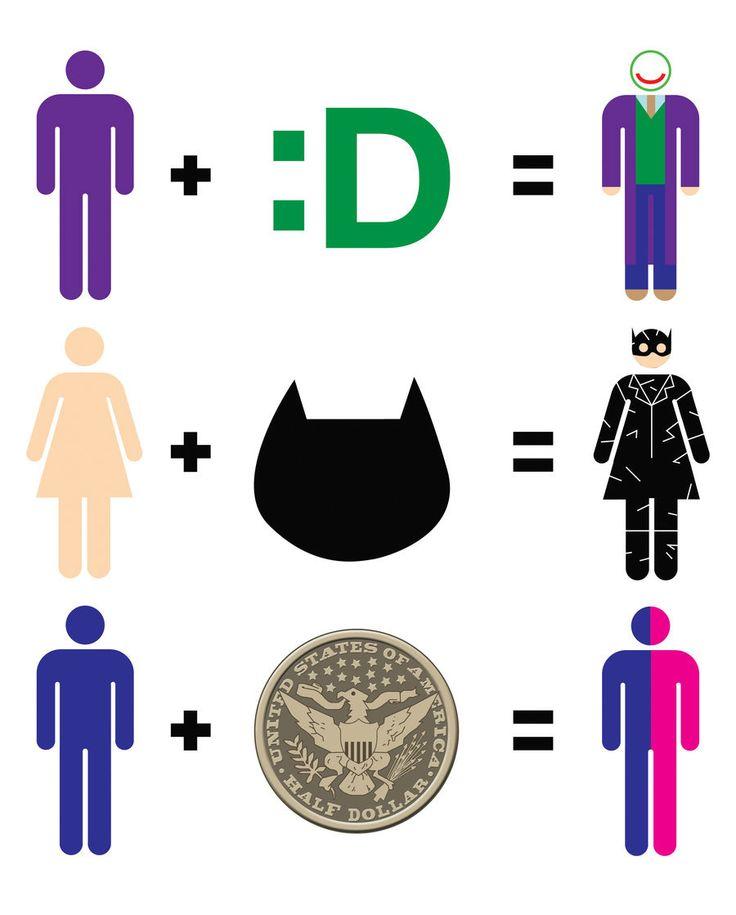 Batman villain math