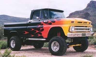 1965 Chevy C-10 Fleetside 4 x 4 Pick-Up. ★。☆。JpM ENTERTAINMENT ☆。★。