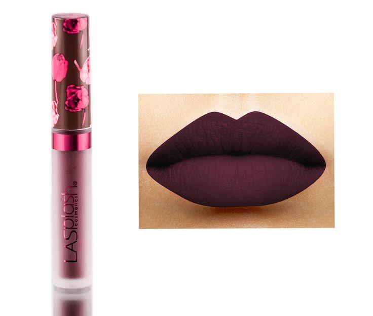 LA-Splash Cosmetics Velvet Matte Liquid Lipstick - Can't Even