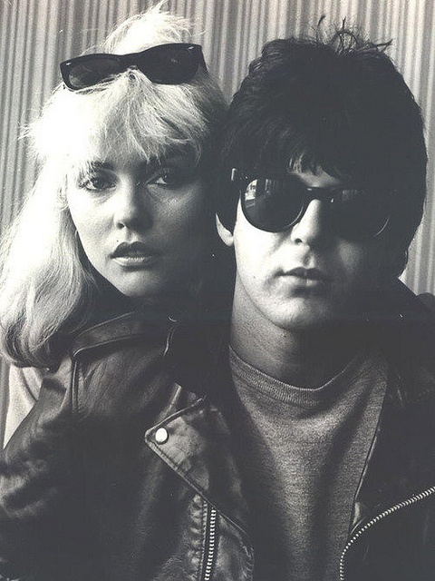 Debbie Harry & Clem Burke (got to meet both of them, and got some sticks from Clem!!!!!) :)