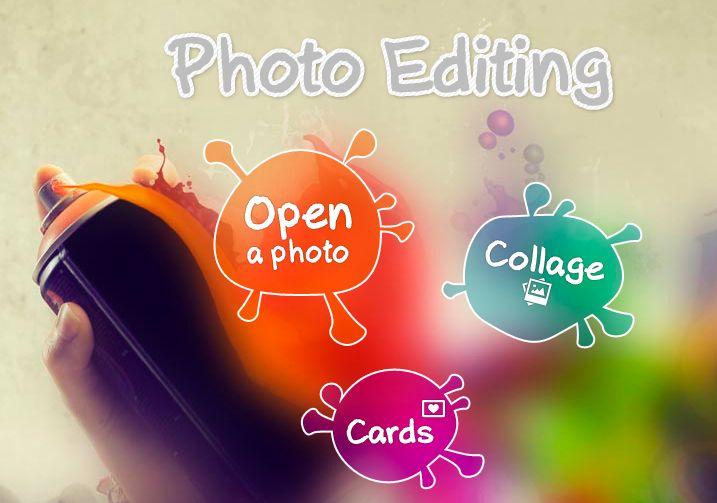Un increíble editor de fotos multiplataforma que permite hacer collages