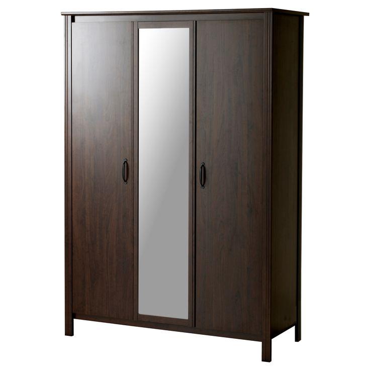 BRUSALI Wardrobe with 3 doors - IKEA for the practice room ...