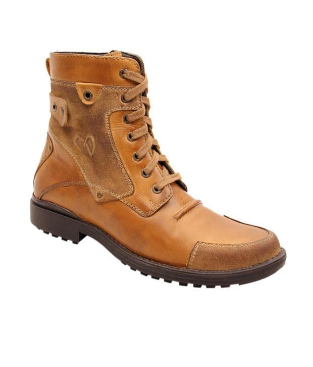 Delize Boots, http://www.snapdeal.com/product/delize-rugged-tan-high-ankle/533033