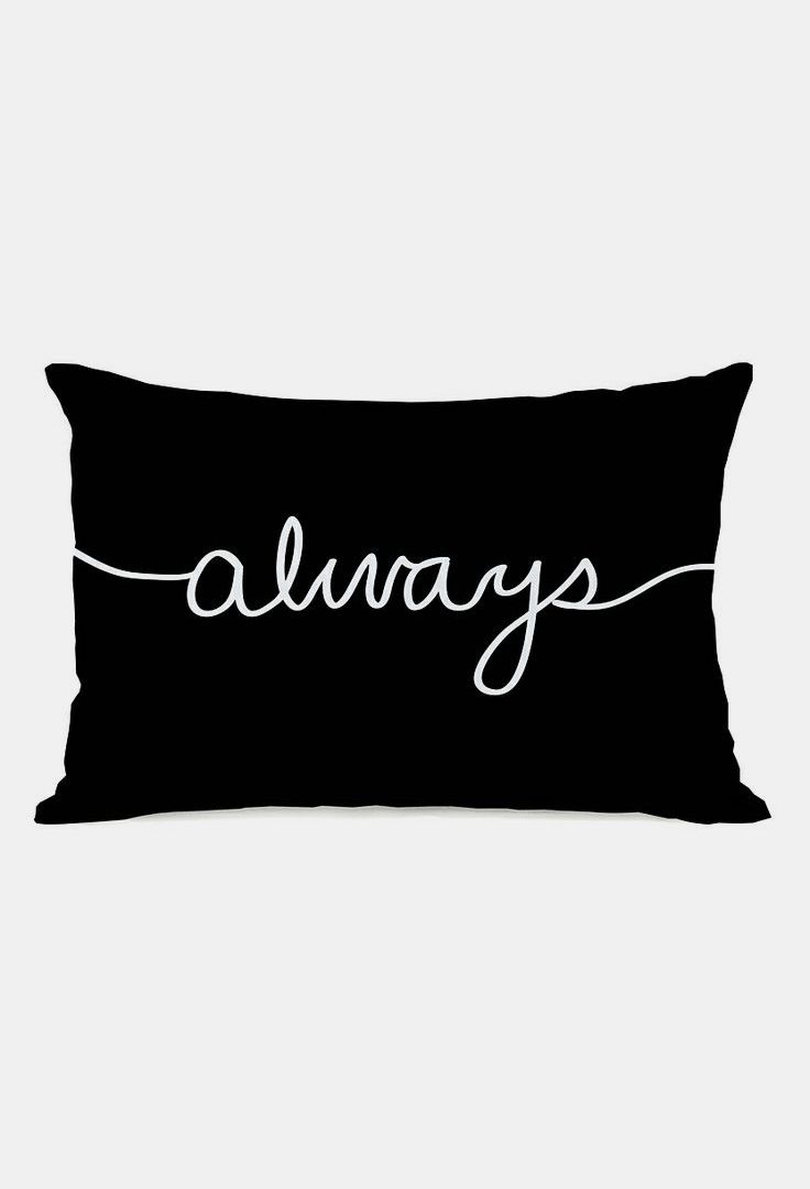 'Always' Throw Pillow
