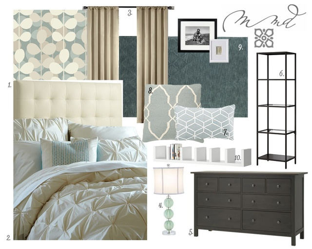 Gray Bedroom Mood : E decor master bedroom mood board