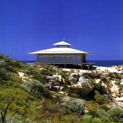 beach house perhaps the same one as in Under the Lighthouse Dancing (Rottnest Island Western Australia)