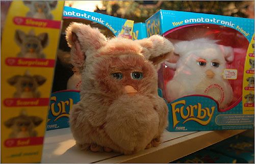 Past popular kids toys - 1998: Furby