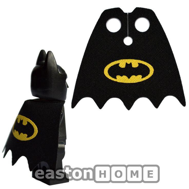 CUSTOM Batman cape for your Lego minifigure. Minifig not ...