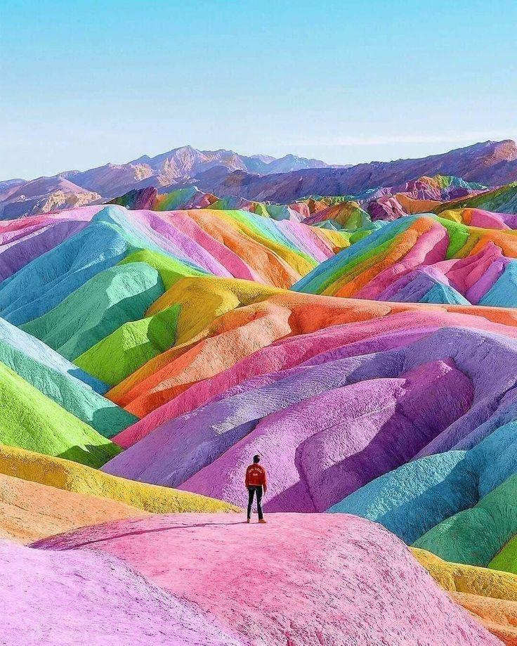 Pin by Olivia on STUDIO 2 | Rainbow mountain, Rainbow ...