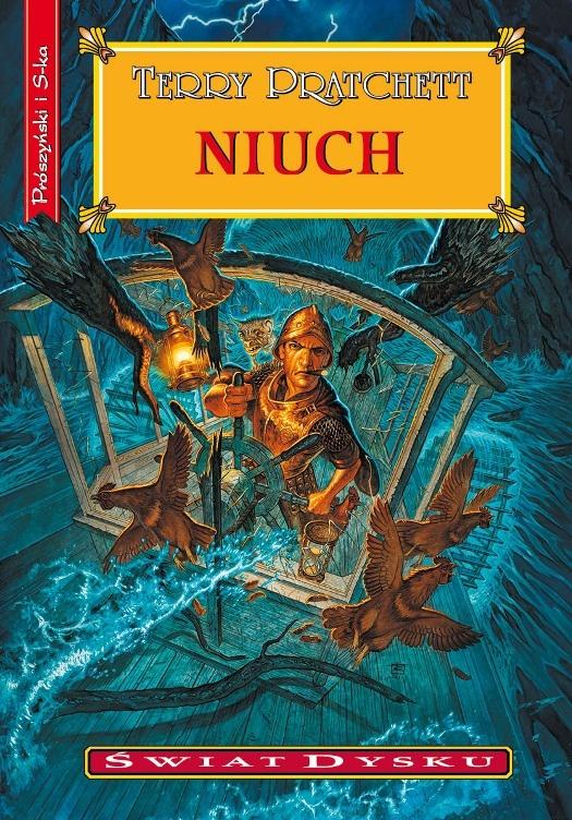 Najnowsza książka Pratchetta. Premiera 10 Kwietnia - zdecydowanie najciekawsze wydarzenie tego dnia.   Recenzja: http://www.przykominku.com/niuch