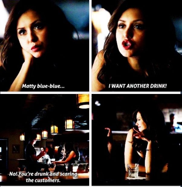 """The Vampire Diaries"" - I think I miss Katherine, but I don't miss her messing up Elena and Damon's life."