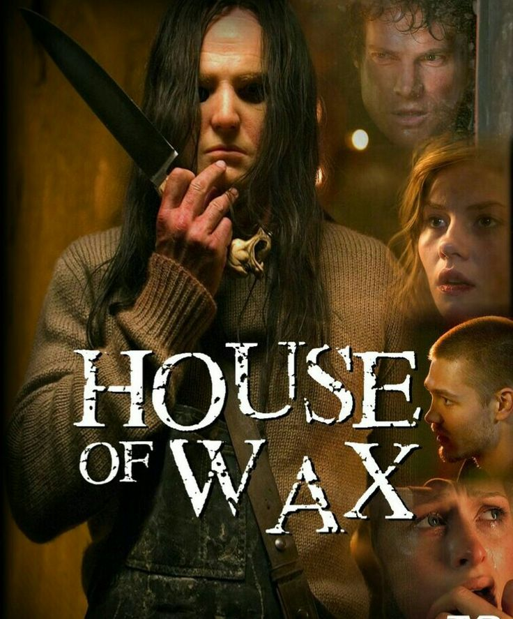 House Of Wax Horror Movie Poster Slasher