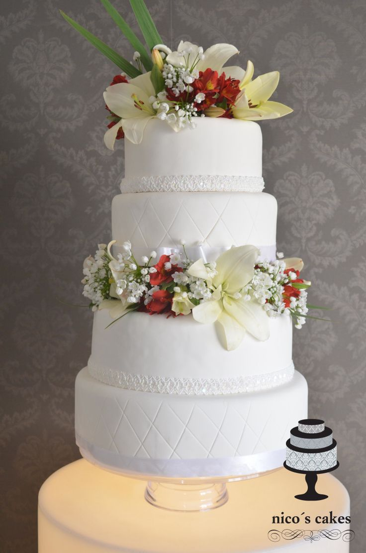 Torta de bodas Elegante