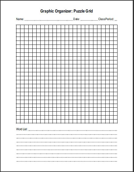 crossword puzzle maker free printable no download