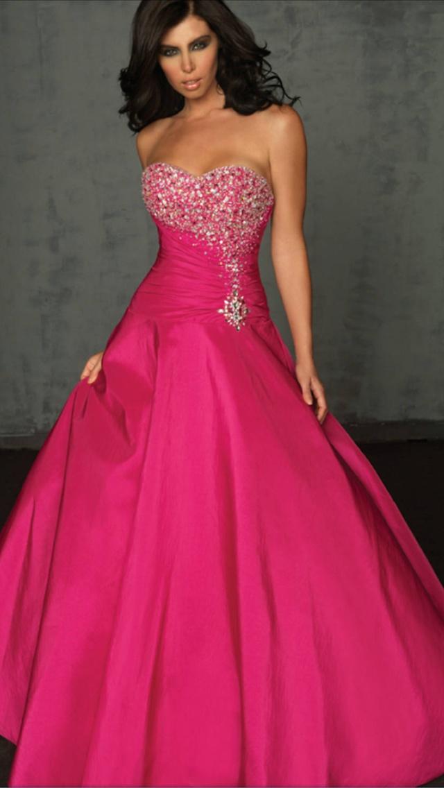 My future grad dress.<3 #pink