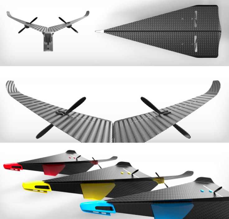 Carbon Flyer Is The Coolest RC Toy Plane Ever