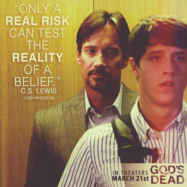 God's Not Dead - Kevin Sorbo(Prof. Radisson) & Shane Harper(Josh Wheaton) www.PureFlix.com www.GodsNotDead.com