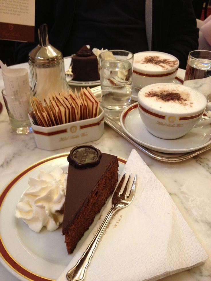 Sacher Torte in Sacher Hotel. Wien The absolute best!