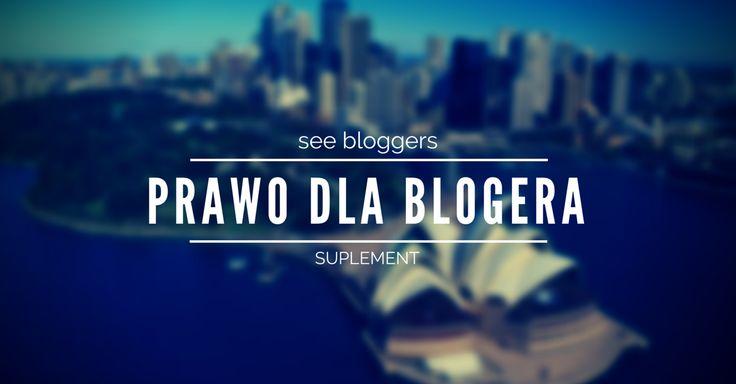 prawo dla blogera