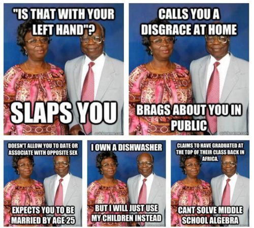 Nigerian Parents be like...
