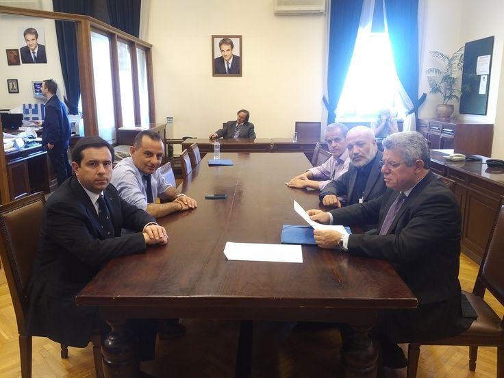 Συνάντηση στη Βουλή με τους εκπροσώπους της Ένωσης Μαστιχοπαραγωγών Χίου - http://goo.gl/dr83yo #chios #emx