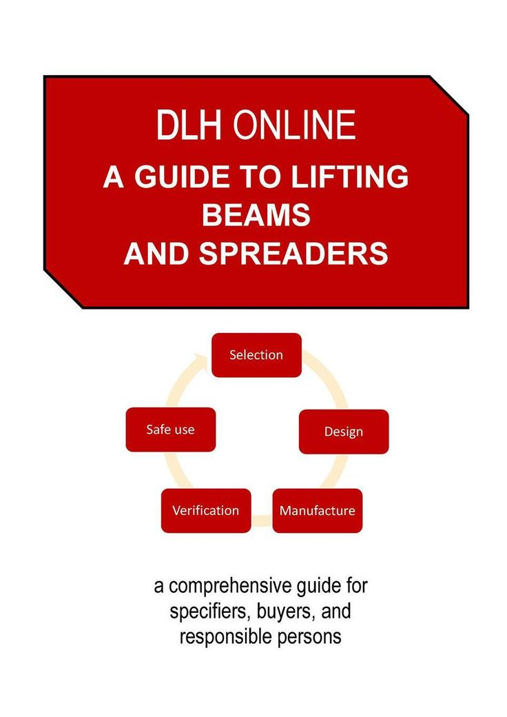 This guide to lifting beams and spreaders incorporates the LEEA Guidance for The Verification of Spreader Beams, Lifting Beams and Lifting Frames. A comprehensive guide for specifiers, buyers, and responsible persons