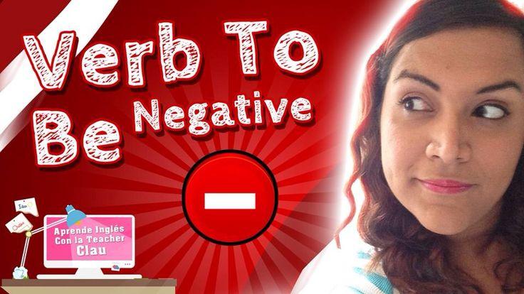 Ya puedes ver nuestro 6° episodio de las clases de inglés!! http://youtu.be/T4IGDkWHcrY #youtube #cursonline #english #ingles #verbtobe #negative #practice #sentence