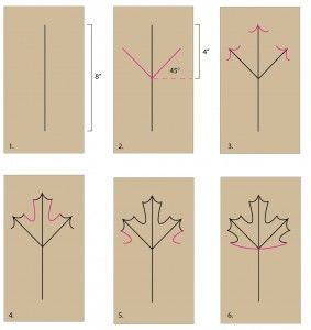 Maple Leaf Diagram