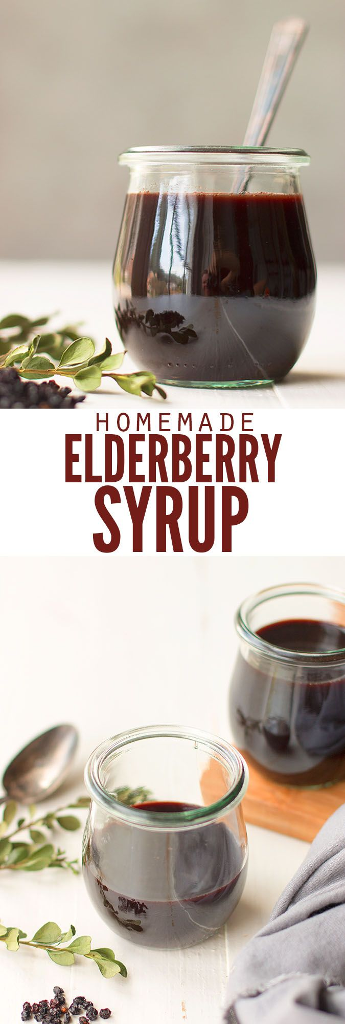 Elderberry syrup has immune-boosting benefits, and it works! I buy dried elderberries from Amazon for this recipe and my kids don't catch colds! :: DontWastetheCrumbs.com