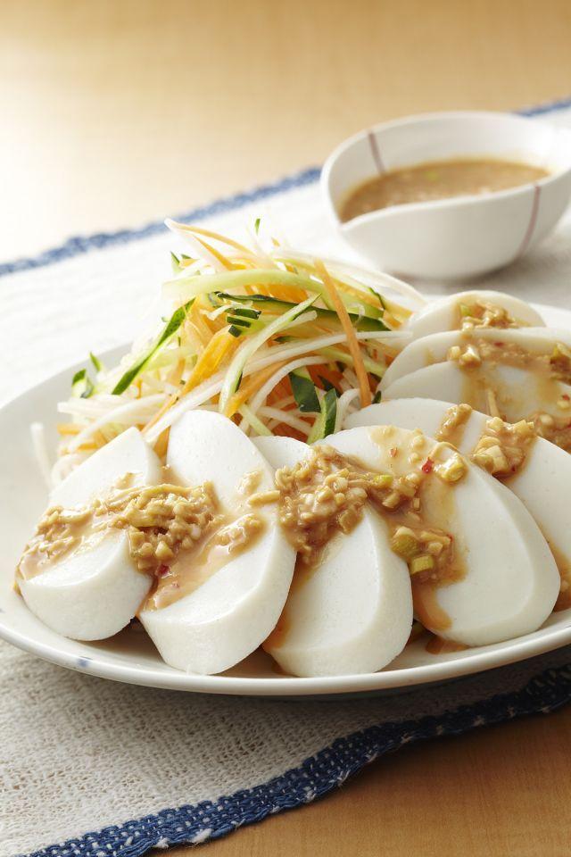 お得に美味しい☆かまぼこ使って節約レシピ!「8」選 - macaroni バンバンジー風かまぼこ♪