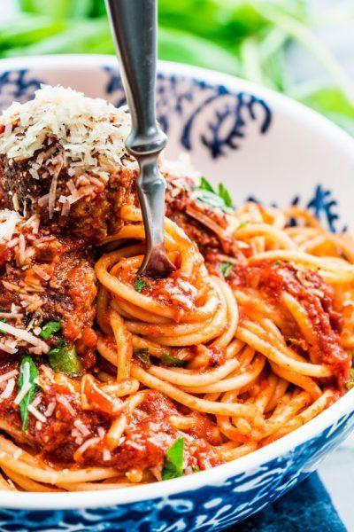 Classic Spaghetti and Meatballs