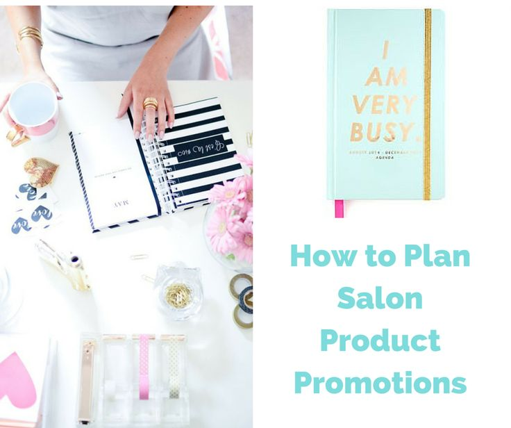 Blog Post >> How to Plan Salon Product Promotions
