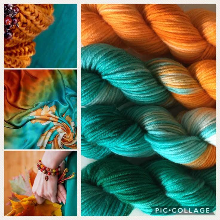 Custom order | yarn kit | hand dyed wool