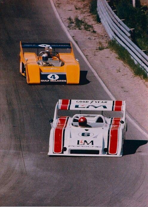 Can Am COOL 1972 Mosport  Moss Corner Mark Donohue  917/10 Peter Revson     M20  @ Jack Webster photo