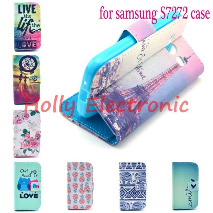 For Samsung Galaxy ACE3 ACE 3 s7270 s7272 7272 Fashion Women/Men Wallet Design Flip Leather Case Cover funda capa free shipping