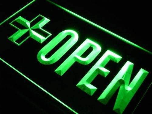 Pharmacy Drug Store Open Led Neon Light Sign With Images Neon