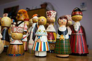 Salvo nukkude kollektsioon (Salvo doll collection)
