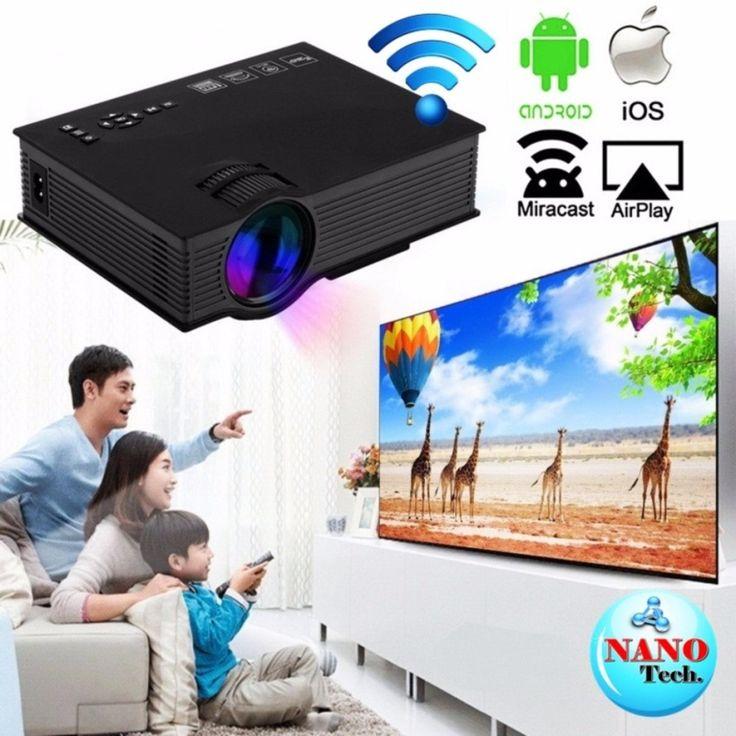 รีวิว สินค้า Nanotech UC46 1080P LED LCD Projector Wifi/2.4G Portable Mini Home Theater TV/USB/VGA US ⛳ กระหน่ำห้าง Nanotech UC46 1080P LED LCD Projector Wifi/2.4G Portable Mini Home Theater TV/USB/VGA US ด่วนก่อนจะหมด   call centerNanotech UC46 1080P LED LCD Projector Wifi/2.4G Portable Mini Home Theater TV/USB/VGA US  รายละเอียด : http://product.animechat.us/3ErsL    คุณกำลังต้องการ Nanotech UC46 1080P LED LCD Projector Wifi/2.4G Portable Mini Home Theater TV/USB/VGA US เพื่อช่วยแก้ไขปัญหา…