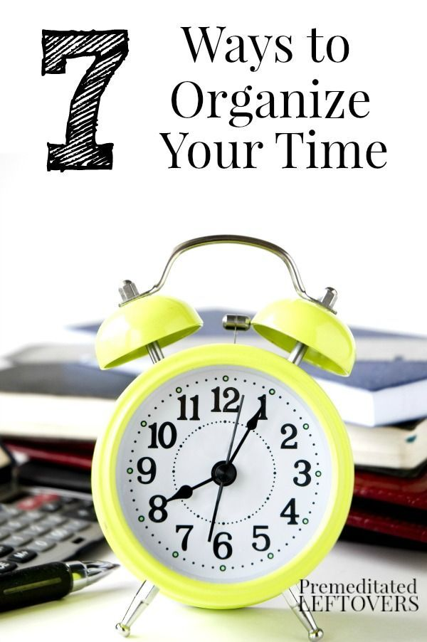 Are you looking for ways to manage your time more effectively? Try these time management tips! These simple time management strategies help organize your time allowing you to get more done while minimizing distractions.