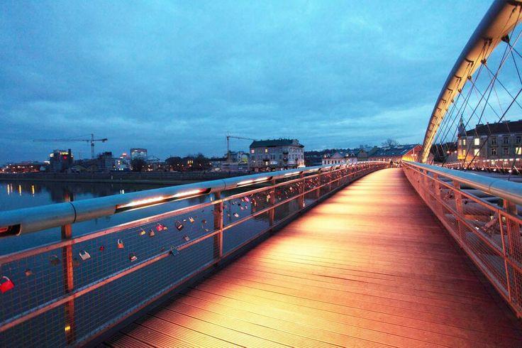Krakow - Krakow - Bridge love. Big enough for all the love in Krakow ...? :-) #lovelockstore  #lovelockstory #lovelocks #lovelockbridge UPLOAD the your SELFIE picture and get 10% SALE on http://lovelockstore.com