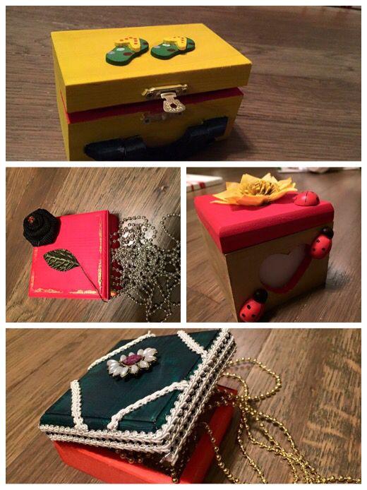 DiY jwellery boxes