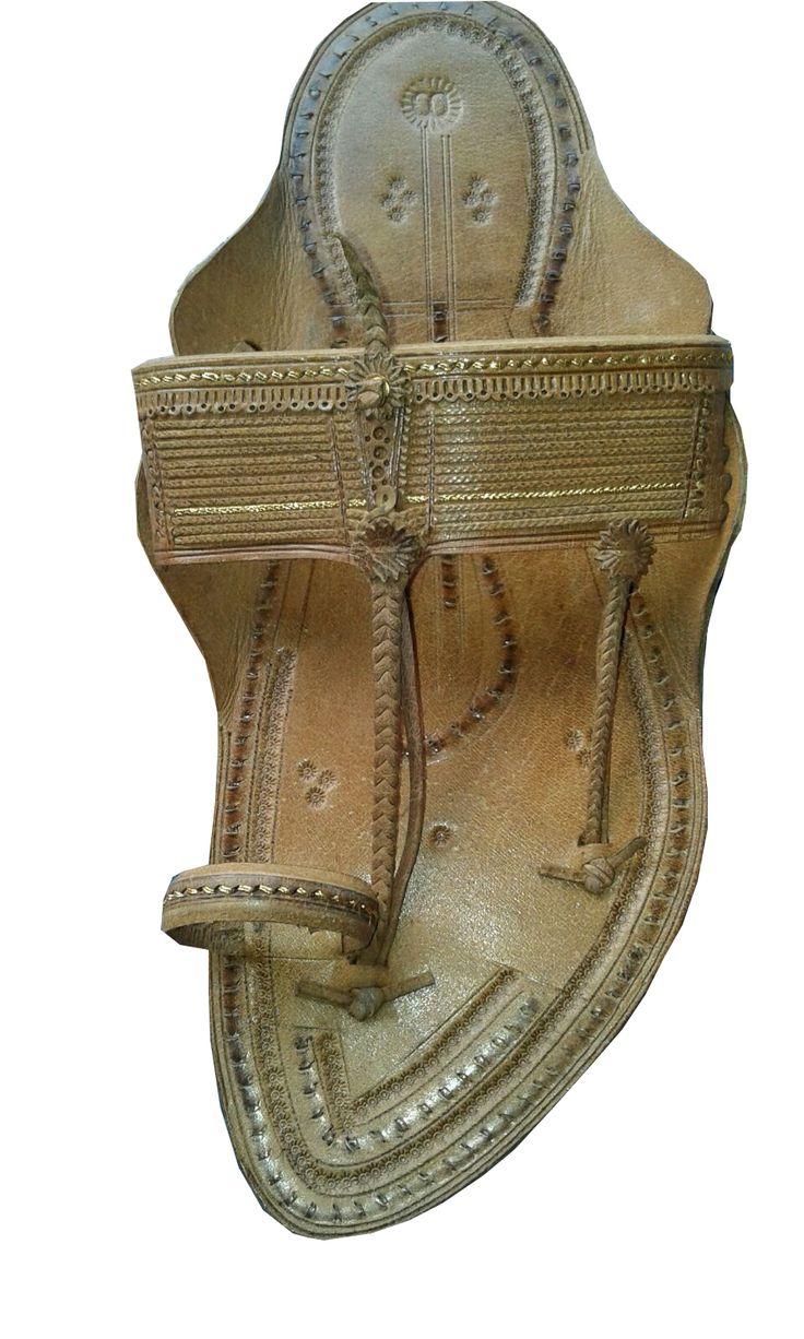 men,special handcraft authentic kolhapuri kapshi pattern