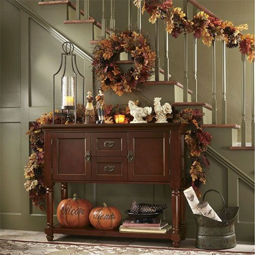 Don T Stop At The Front Porch Extend The Seasonal Feel