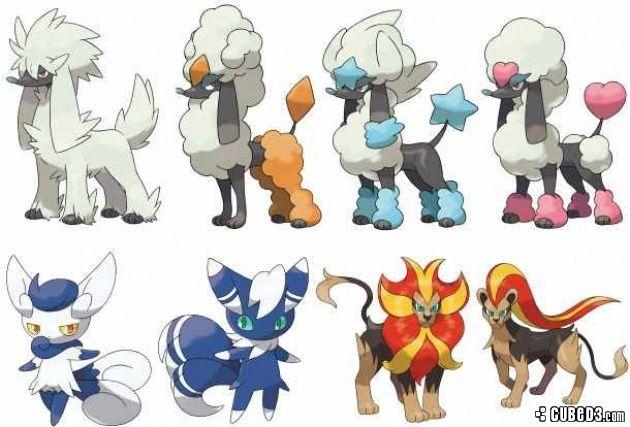 News: New Pokémon X and Y Details, Mega Mewtwo Evolutions, New ...